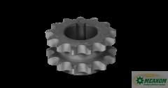 Блок звездочек РСМ-10 01 55 602 привода выгрузного шнека(z=13-13 t=19 05)