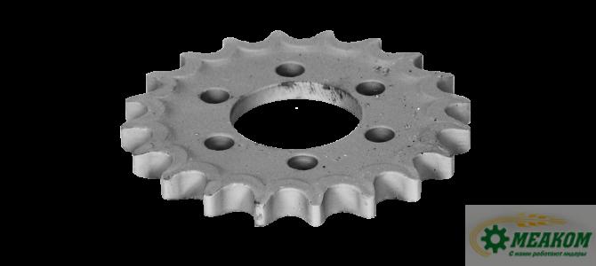 Звездочка 142.50.03.446 шкива зернового механизма(z=18 t=19,05)