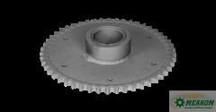 Звездочка 3518050-11320 предохранительного устройства мотовила(z=50 t=19,05) в сборе со втулкой