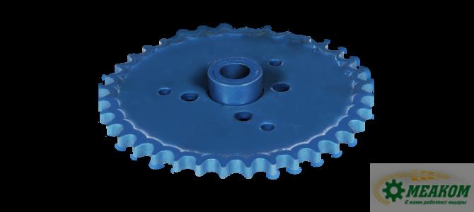 Звездочка  КДМ 2-23-9-1-1 механизма предохранительного колосового шнека(z=36 t=19,05)