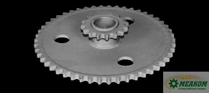 Блок  3518050-10300А звездочек привода мотовила (z=16\50,t=19,05)