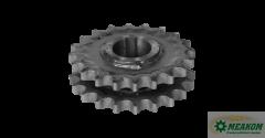 Блок звездочек РСМ-10 01 55 240-01привода выгрузного шнека(z=20-20 t=19,05)