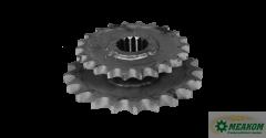 Блок звездочек РСМ-100.05.05.390 привода питающего барабана (z=20-22 t=19,05-25,4)