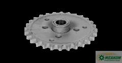Звездочка 54-60129 предохранительного механизма колосового шнека (z=28't=19'05)