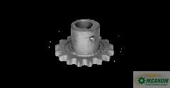 Звездочка Н 022.324-01 вала контрпривода зернового элеватора(z=16 t=19,05 d=30мм)