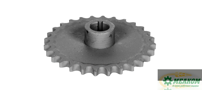 Звездочка РСМ-10.01.45.580 привода выгрузного шнека(z=28 t=19,05)