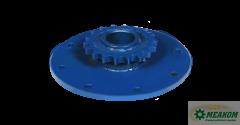 Звездочка ЖКН 5-6-17-1-1 предохранительного устройства наклонной камеры(z=18 t=19,05)